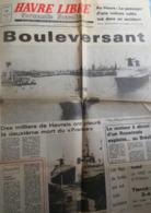 Le Havre - Paquebot France -  Dernier Voyage - Quotidien Havre Libre - Lundi 20 Août 1979 - - Normandie
