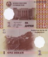 TAJIKISTAN, 1 DIRAM, 1999, P10, UNC - Tadzjikistan
