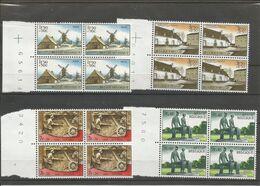 OCB 1532 ==> 1535  ** Postfris Zonder Scharnier In Blok Van 4 - Belgium