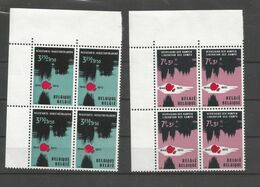 OCB 1539 ==> 1540  ** Postfris Zonder Scharnier In Blok Van 4 - Belgium
