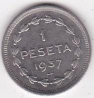 ESPAGNE. GOBIERNO DE EUZKADI. 1 PESETA 1937 - [ 3] 1936-1939 : Guerre Civile