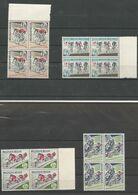 OCB 1255 ==> 1258  ** Postfris Zonder Scharnier In Blok Van 4 - Belgium