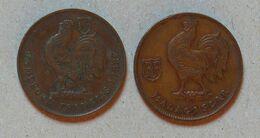 Monnaie Afrique Anciennes Colonies - 1 F 1943 - Cameroun & Madagascar - Cameroon