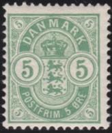Denmark    .    Yvert         .   35a      .      *      .       Mint-hinged .   /   .  Neuf Avec Gomme - Ungebraucht