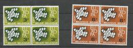 OCB 1193 ==> 1194  ** Postfris Zonder Scharnier In Blok Van 4 - Belgium