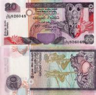 SRI LANKA, 20 Rupees, 2015, P109c, UNC - Sri Lanka