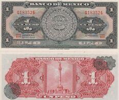 (B0077) MEXICO, 1970. 1 Peso. P-59l. UNC - Mexiko