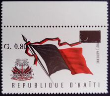Haiti 1976 Armoiries Drapeau Arms Flag Surchargé Overprinted Yvert 548 ** MNH - Haiti