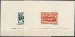 ESPAÑA 1937 Nº 836/37 NUEVO CON CHARNELA PUNTOS DE OXIDO - 1931-Aujourd'hui: II. République - ....Juan Carlos I