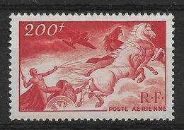 France PA N°19a** Rouge Sang, Papier Carton. Cote 80€ - Varieteiten: 1945-49 Postfris