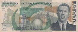 (B0078) MEXICO, 1989. 10000 Pesos. P-90c. VF - Mexiko