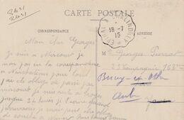 Epinal à Chalindrey - Poststempel (Briefe)