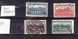 1926 Chateaux Praha Y 238-241 Mi 253-256  Sans Filigranne - Used Stamps