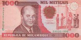 (B0079) MOZAMBIQUE, 1991. 1000 Meticais. P-135. UNC - Mozambique