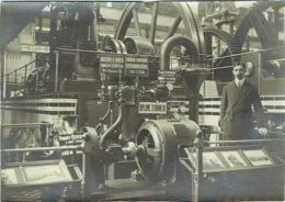 Foto/Grande Photo. Machine à Vapeur, Louis Smulders à Utrecht. - Mestieri