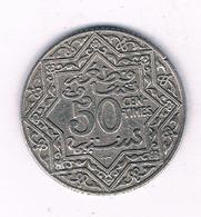 50 CENTIMES 1921  MAROKKO /7089/ - Marocco