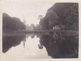 Dadizele  Moorslede FOTO Van Het Kasteel En De Kerk Tijdens De Eerste Wereldoorlog (mer Duitse Soldaten Op De Vijver) - Moorslede