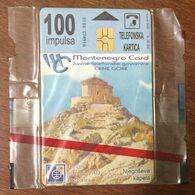 MONTENEGRO 100 TELECARTE GEMPLUS NSB TELECARD PHONECARD TELECARTE - Montenegro