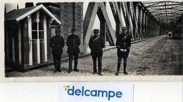 PHOTO ORIGINALE -  STRASBOURG - Le Pont De KEHL -  Gendarmes - Douaniers - 1925 - Lieux