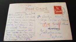 St Cergue - Sent To Yokohama Japan - Usados