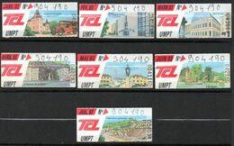 TCL. Lot De 7 Tickets  UMPT. Illustrations : Sites Et Lieux Touristiques De Lyon Et Environs. Année 1993. - Non Classificati
