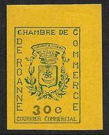 France Timbre De Grève N°14** (Maury) Grand Coin De Feuille Cote 75€. - Huelga