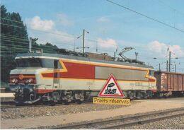 661 - Loco CC 21004 Et Train De Fret à Dole (39) - - Dole