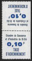 France Timbre De Grève N°7a**. Tête-bêche Cote 150€. - Huelga