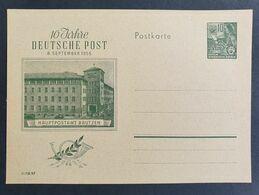 DDR 1955, Postkarte P66 Ungebraucht - Briefe U. Dokumente