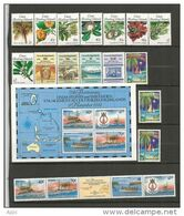 Année Complète 1989 .   19 Timbres + Un Bloc-Feuillet Neufs **      Côte 62,00 € - Kokosinseln (Keeling Islands)