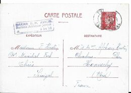 ENTIER POSTAL TYPE PETAIN - Cartoline Postali E Su Commissione Privata TSC (ante 1995)