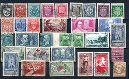 H136 Plaquette Remplie De Bonnes Petites Valeurs De France Oblitérées A Ne Pas Laisser Passer !!! - Collections (en Albums)