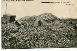 FRANCE - Censored WWI - Aisne - L'Usine - N'oubliez Jamasi! - Unclassified