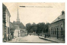 FRANCE - DOMART-Sur-La-LUCE (Somme) (?) Rue D'Amines (Ecole Des Filles) - Frankrijk