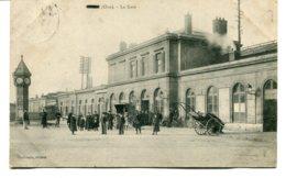 FRANCE - (?) Oise - La Gare 1910 - Frankrijk