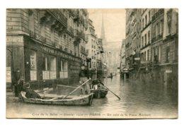 FRANCE - Cruz De La Seine - Janvier 1910 PARIS Un Coin De La Place Maubert - Rampen