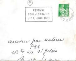 54 . MEURTHE ET MOSELLE . TOUL . SECAP . 1961 . - Maschinenstempel (Sonstige)
