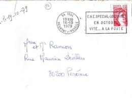 54 . MEURTHE ET MOSELLE . 54-TOUL . SECAP . 1977/79 . - Maschinenstempel (Sonstige)