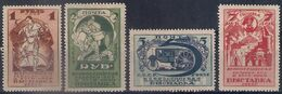 Russia 1923, Michel Nr 224-27 A/B, MLH OG - Neufs