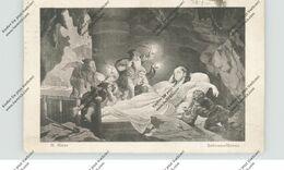MÄRCHEN - SCHNEEWITTCHEN Und Die Sieben Zwerge, Künstler-Karte R.Risse - Fairy Tales, Popular Stories & Legends