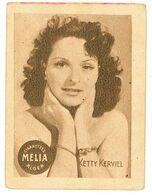 CIGARETTES MELIA ALGER - KETTY KERVIEL - Dos Vierge - Melia