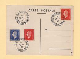 Congres De Versailles - Parlement - 16-1-1947 - Marianne De Dulac - Marcofilie (Brieven)
