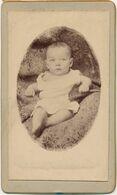 CDV - Portrait D''un Bébé De 4 Mois (anonyme) (1894) - Oud (voor 1900)