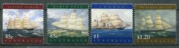 Australien Mi# 1677-80 Postfrisch MNH - Ships - Zonder Classificatie