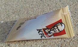 France Sachet Sucre Sugar KFC - Azúcar
