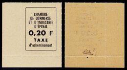 France Grève N° 4 (Epinal) Neuf ** Signé Calves Superbe Qualité - Cote 120 Euros - Strike Stamps