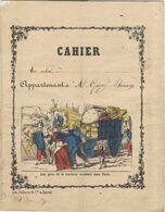 Cahier D'écolier - Lith. Pellerin Et Cie Epinal - Listes Des Dépenses Faites En La Nouvelle Maison - 1881 - Old Paper