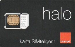 Poland - Orange Halo (standard SIM) - GSM SIM - Mint - Polen