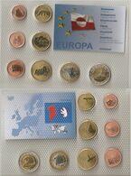 Probe / Gronland / Greenland - Set 8 Coins 1 2 5 10 20 50 C + 1 2 Europ 2004 UNC Lemberg-Zp - Groenlandia