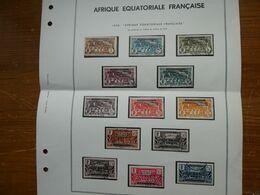 France Colonies  Afrique Equatoriale  N° 1 à 32 Oblitérés Sauf 3 Timbres Cote 190 € Voir Scans - Gebruikt